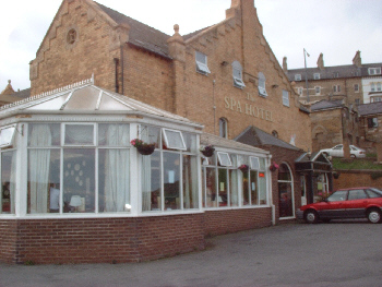 The Spa Hotel at Saltburn by the Sea